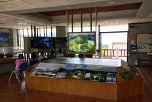 takto vypadá návštěvnické centrum uvnitř