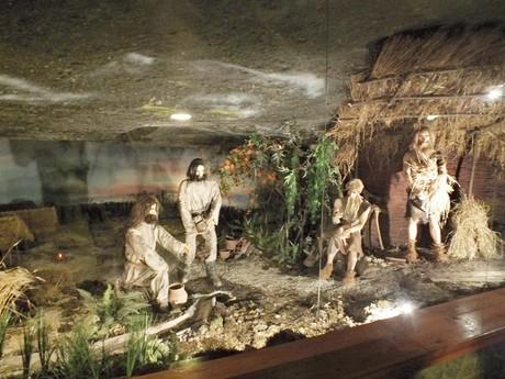 a model depicting Neolithe culture (Wieliczka)