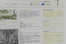 Koerich (St Remigius church, info board)