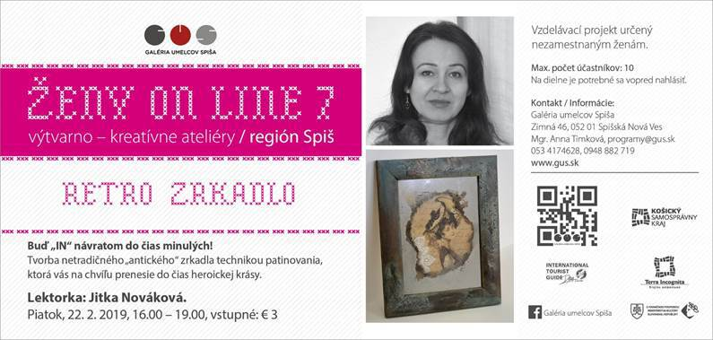 ŽENY ON LINE 7 / RETRO ZRKADLO