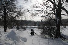 rybníček na Skelné Huti