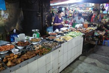 a market, Ha Long