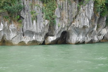 Limestone islands in Ha Long Bay