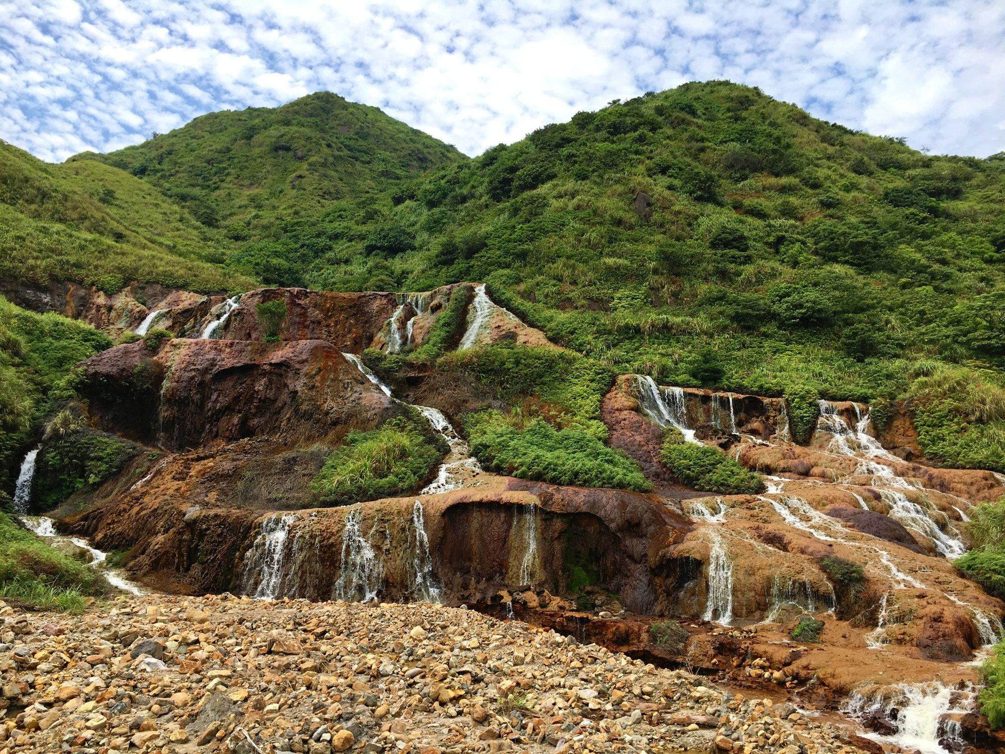 Golden Waterfall – opravdová pastva pro oči