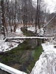 potok Rokytka, cestou ke kapli