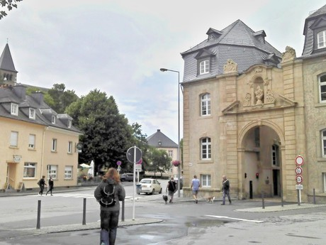 Эхтернах - входной портал в аббатство