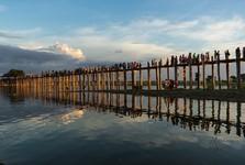 самый длинный и самый старый тиковый мост мира