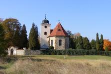 kostelík na Levém Hradci
