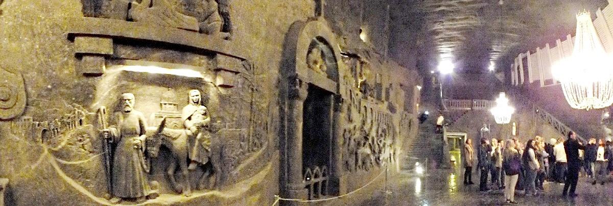 Útěk do Egypta, kaplička sv. Kingy (Wieliczka)