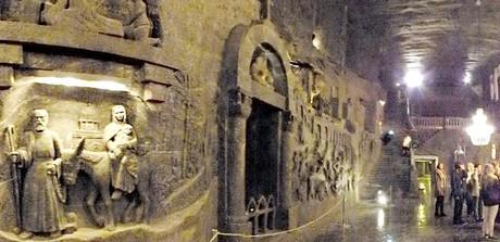 Útek do Egypta, kaplnka sv. Kingy (Wieliczka)