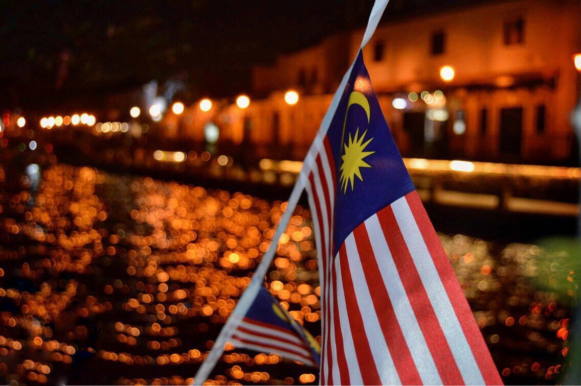 malajská vlajka