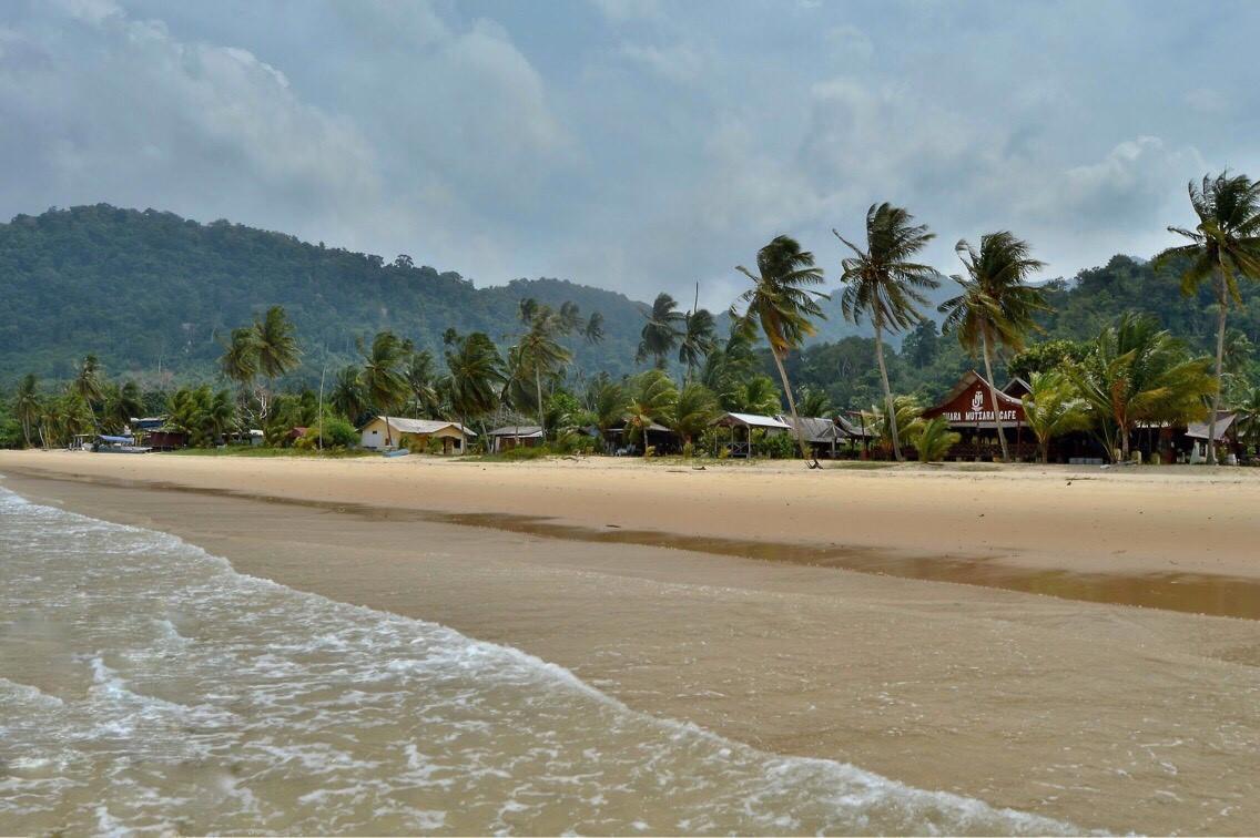 pláž na ostrově Tioman