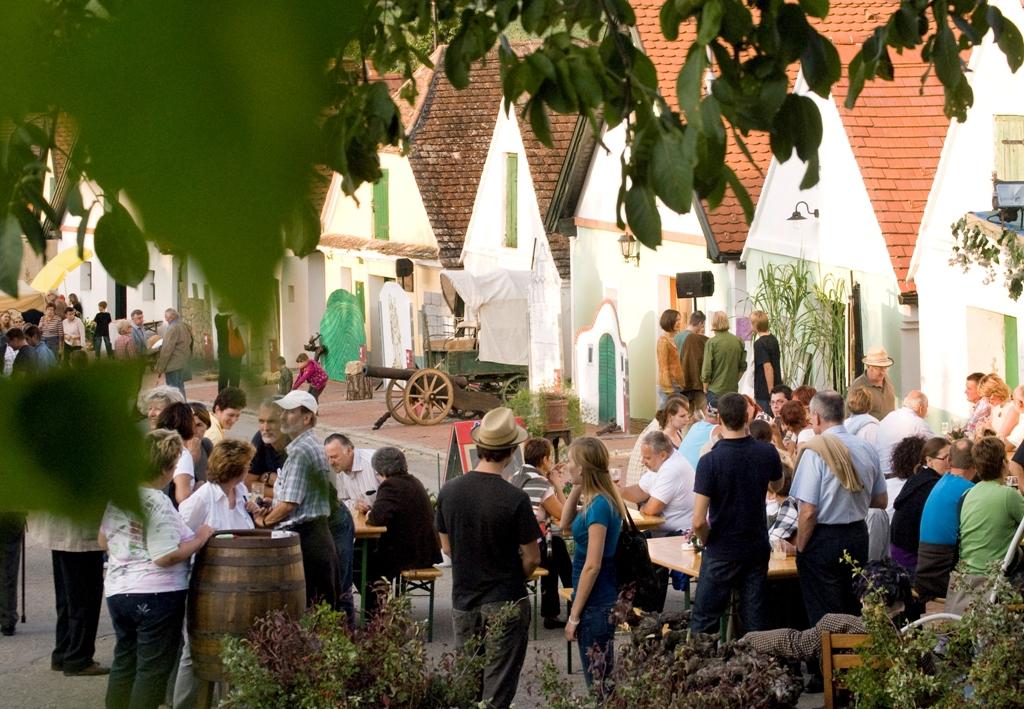 Falkenstein, Kellergasse, (c) Weinviertel Tourismus GmbH / Lahofer