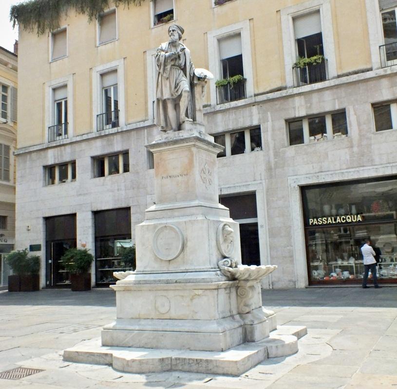скульптура Пармиджанино (Парма)