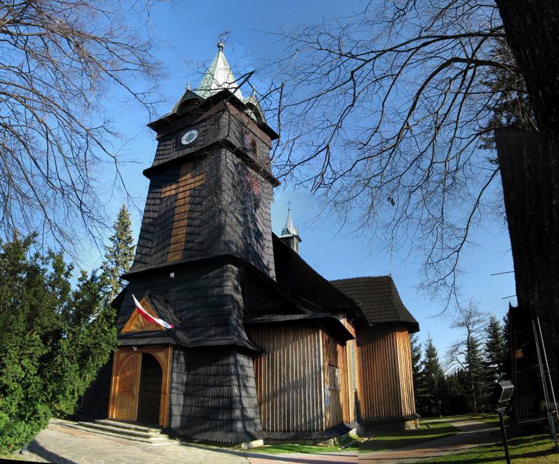 деревянный костел Св. Георгия, (c) Wiki