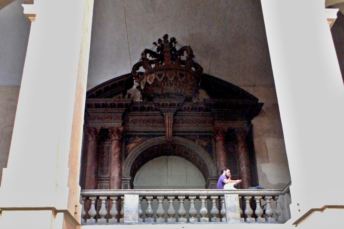 Teatro Farnese, Palazzo della Pilotto
