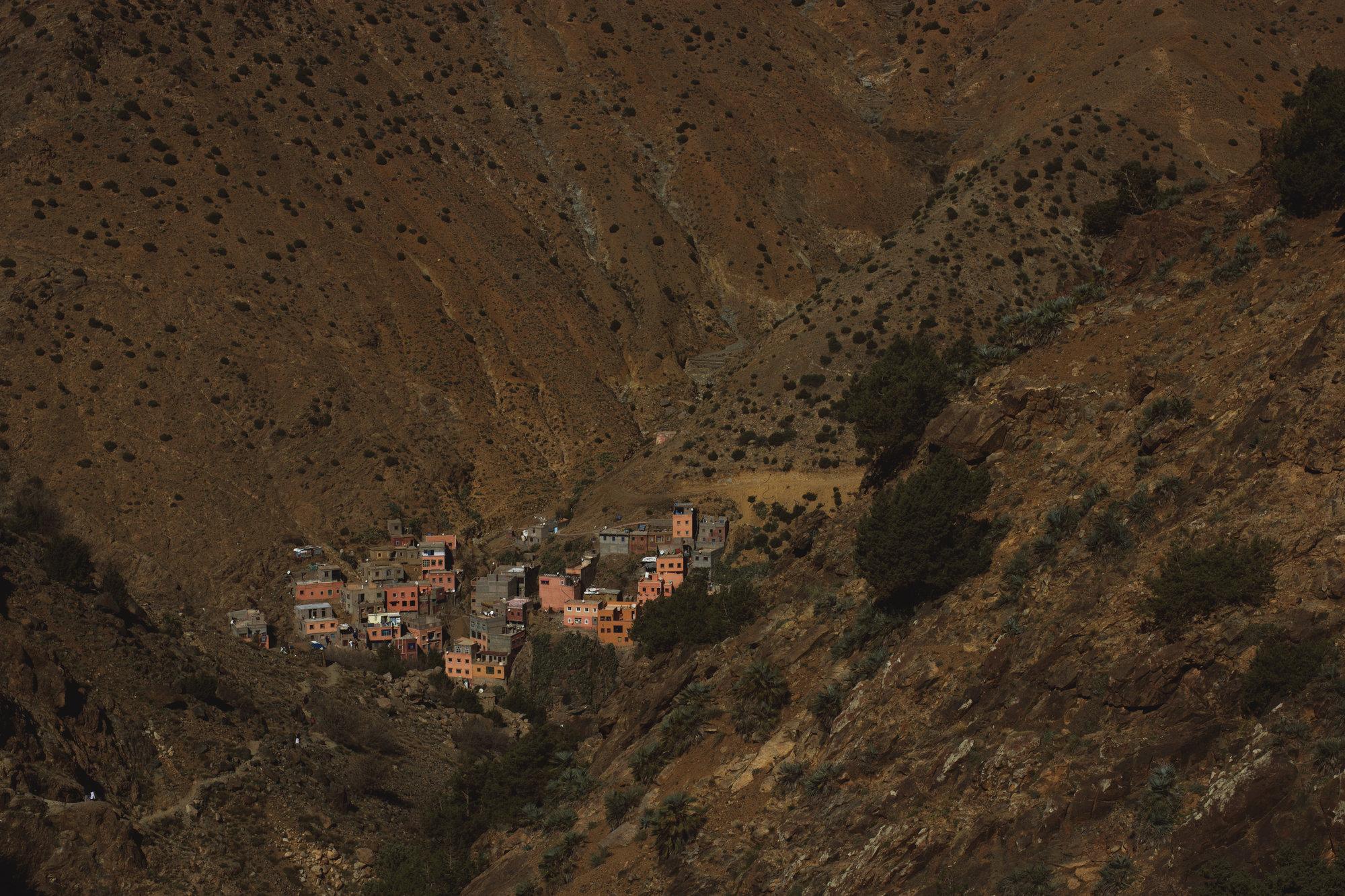 a vista over Setti Fatma village