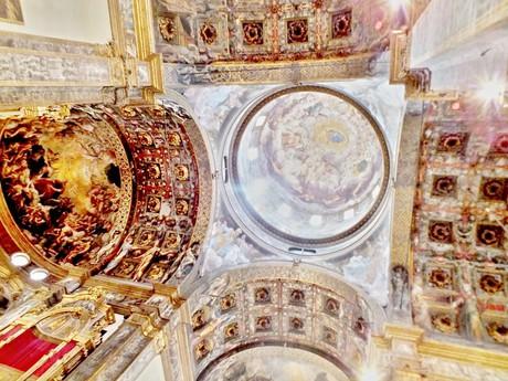 kostol Santa Maria della Steccata, interiér (Parma)
