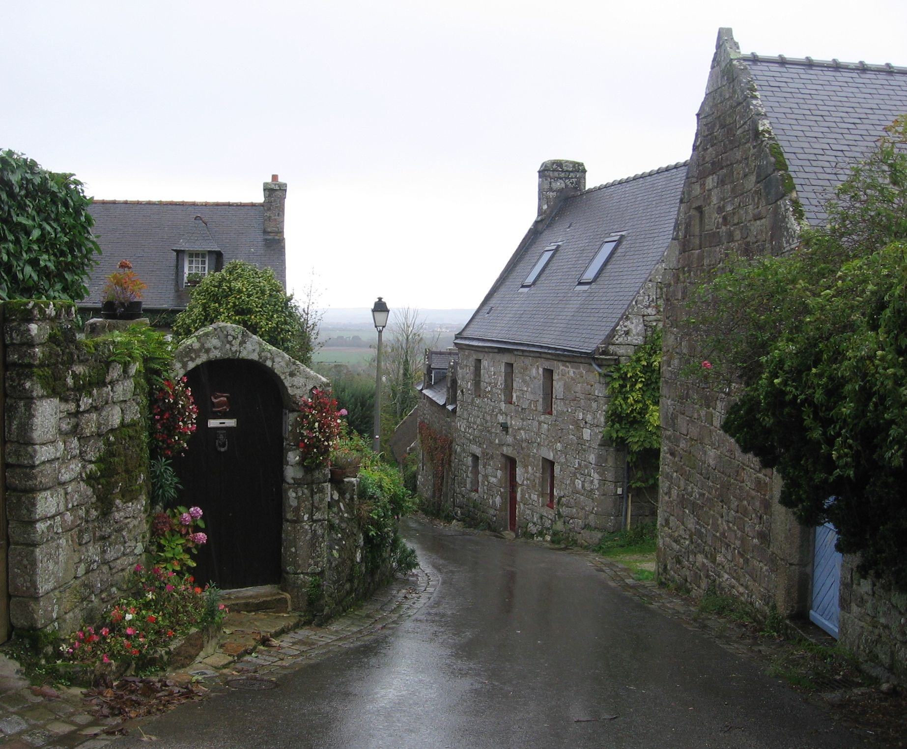 Locronan and its typical Breton architecture