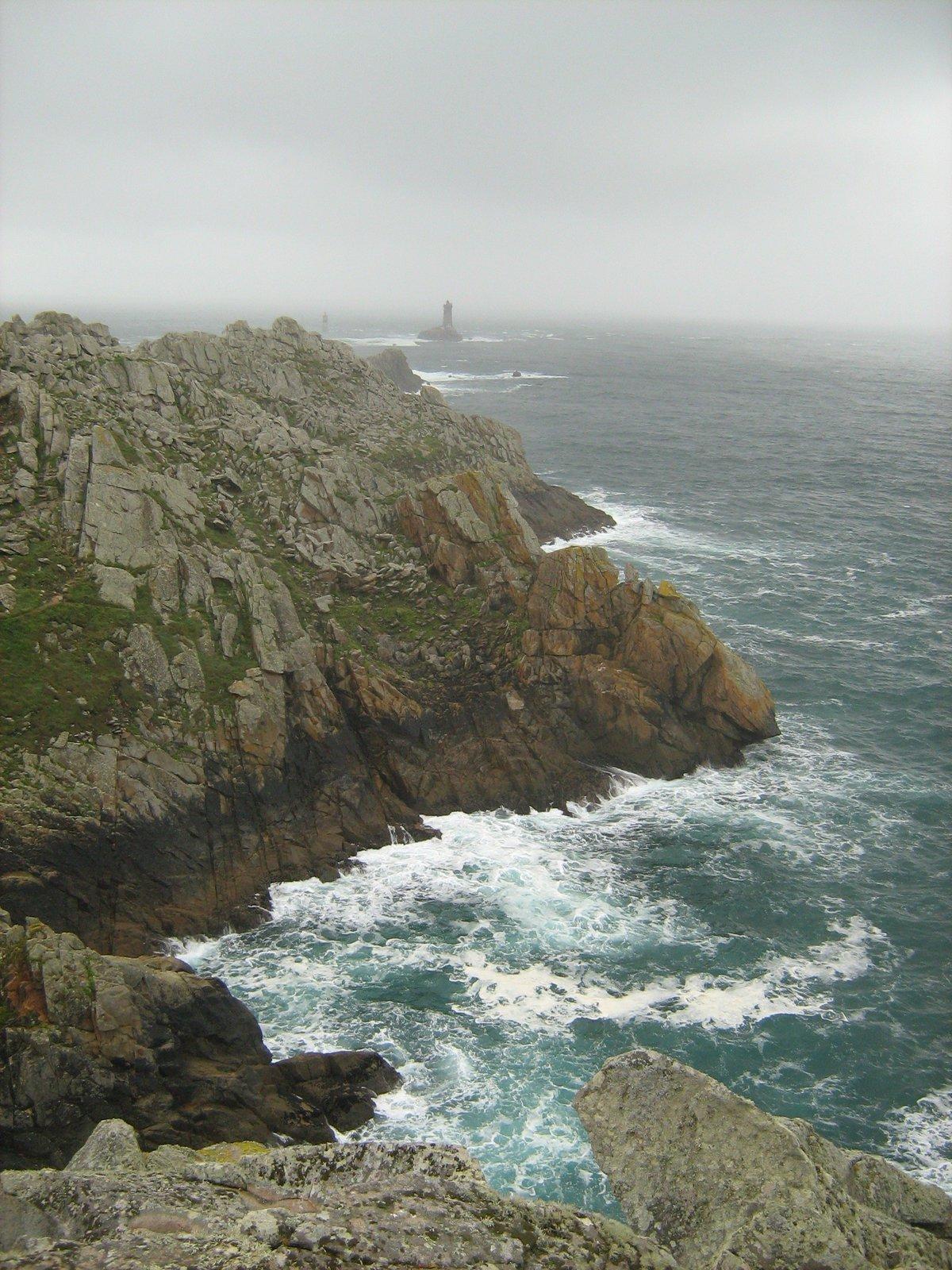 Pointe de Raz, конец света