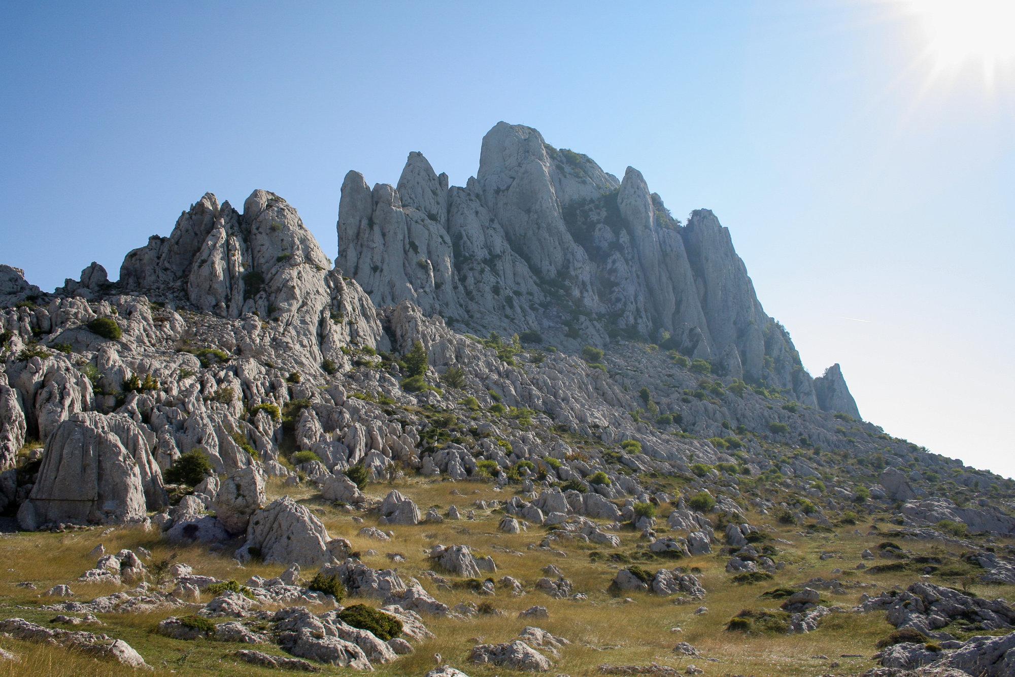 приметный горный массив Тулове-Греде