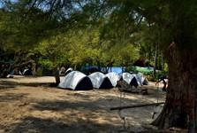 можно спать также в палатке