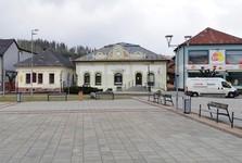 dobové židovské domy (uprostřed Fischerův dům)