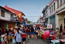 trh na ulici Jonker Street