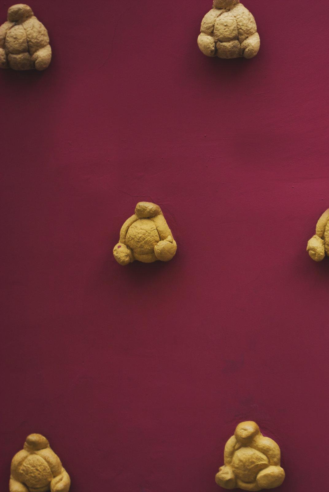 chléb je hlavním vnějším výzdobným prvkem Dalího muzea