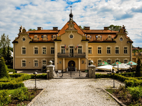 Zahrada a zámek Berchtold