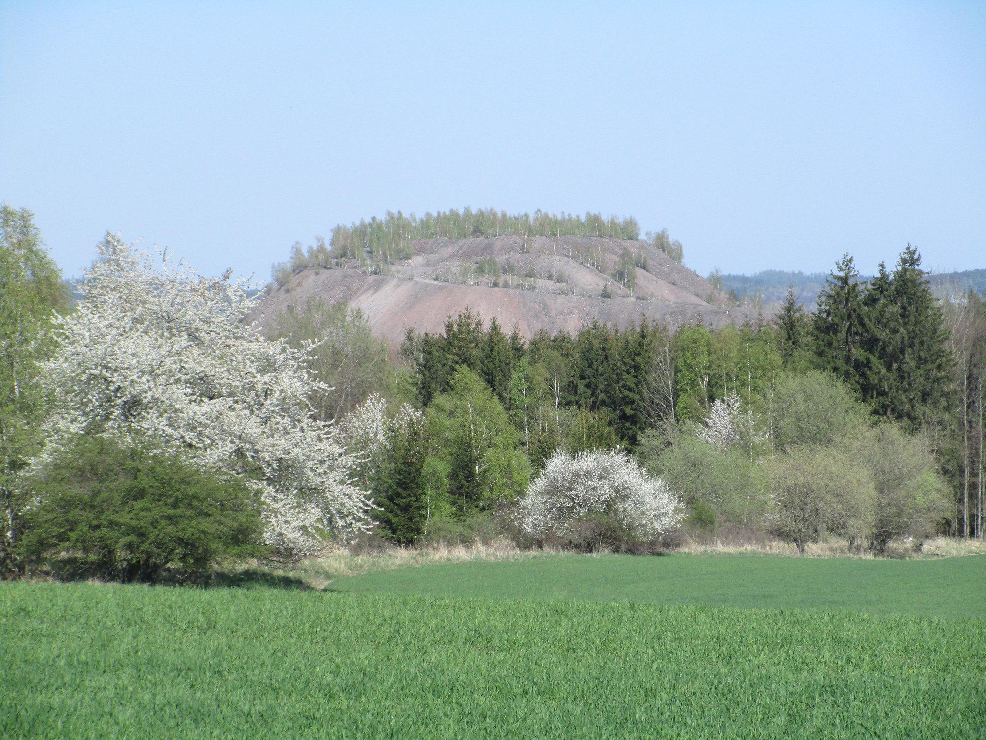 a hill near Vojna