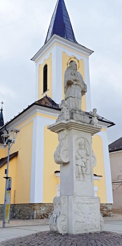 the column of St John of Nepomuk