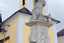 stĺp sv. Jána Nepomuckého (Trstená)