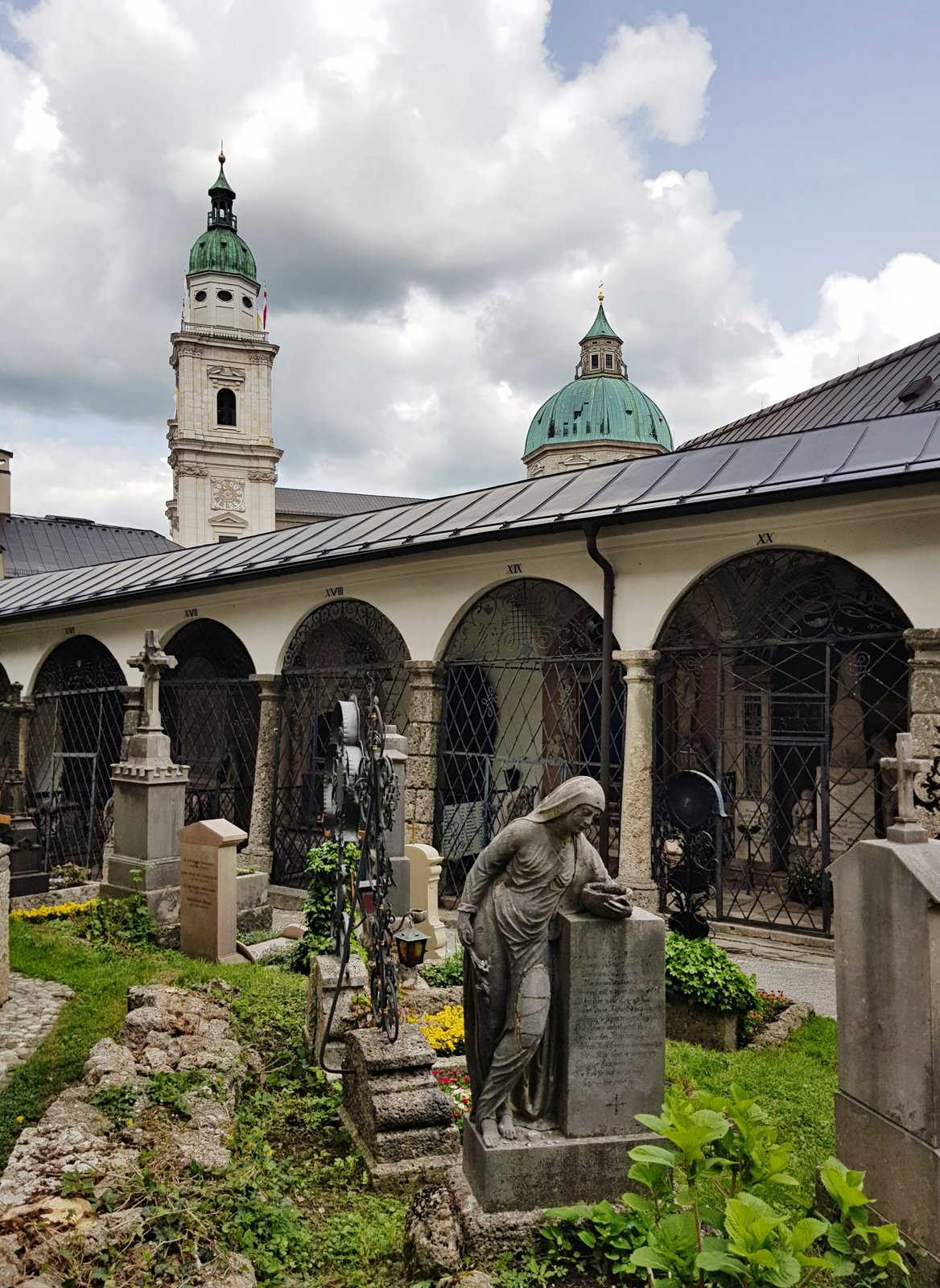 Salzburg, hřbitov sv. Petra