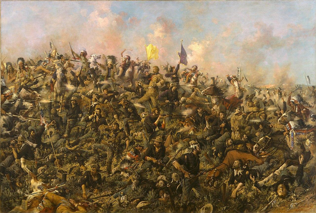 Custerův poslední vzdor