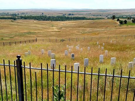 miesto, kde skonal sám Custer
