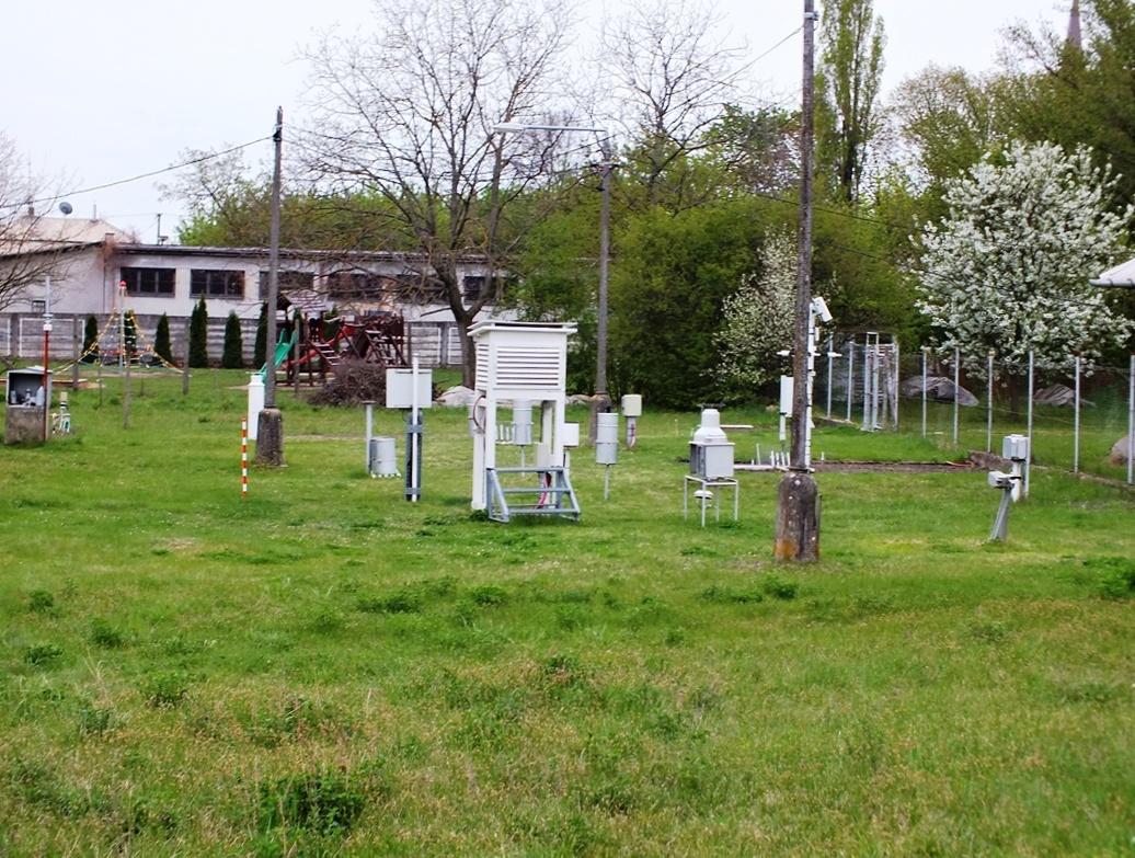 měřicí zařízení v Hurbanově