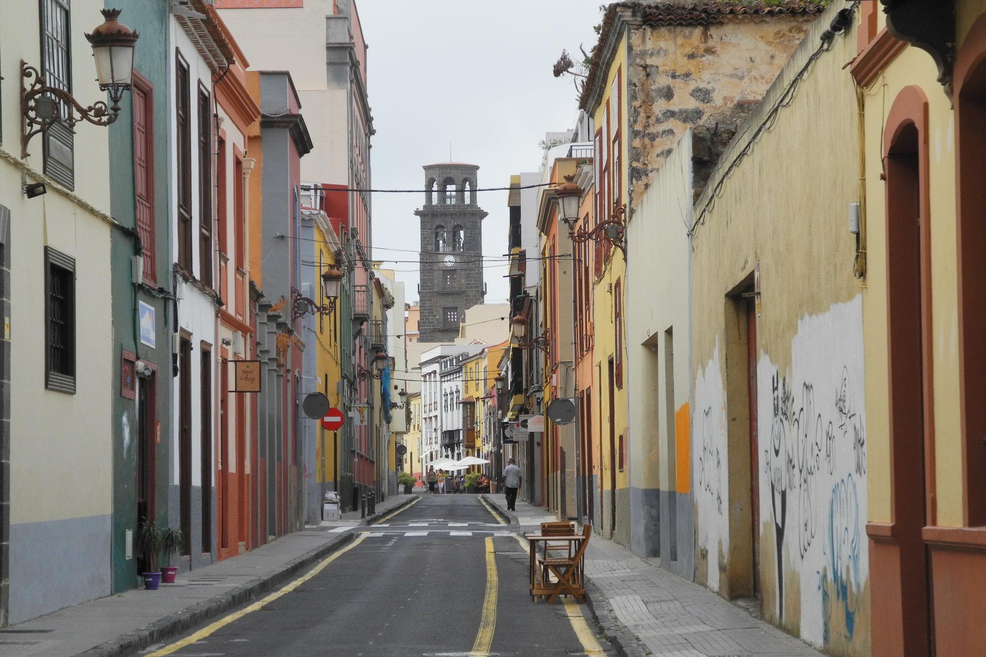 ulička univerzitného mesta San Cristóbal de La Laguna