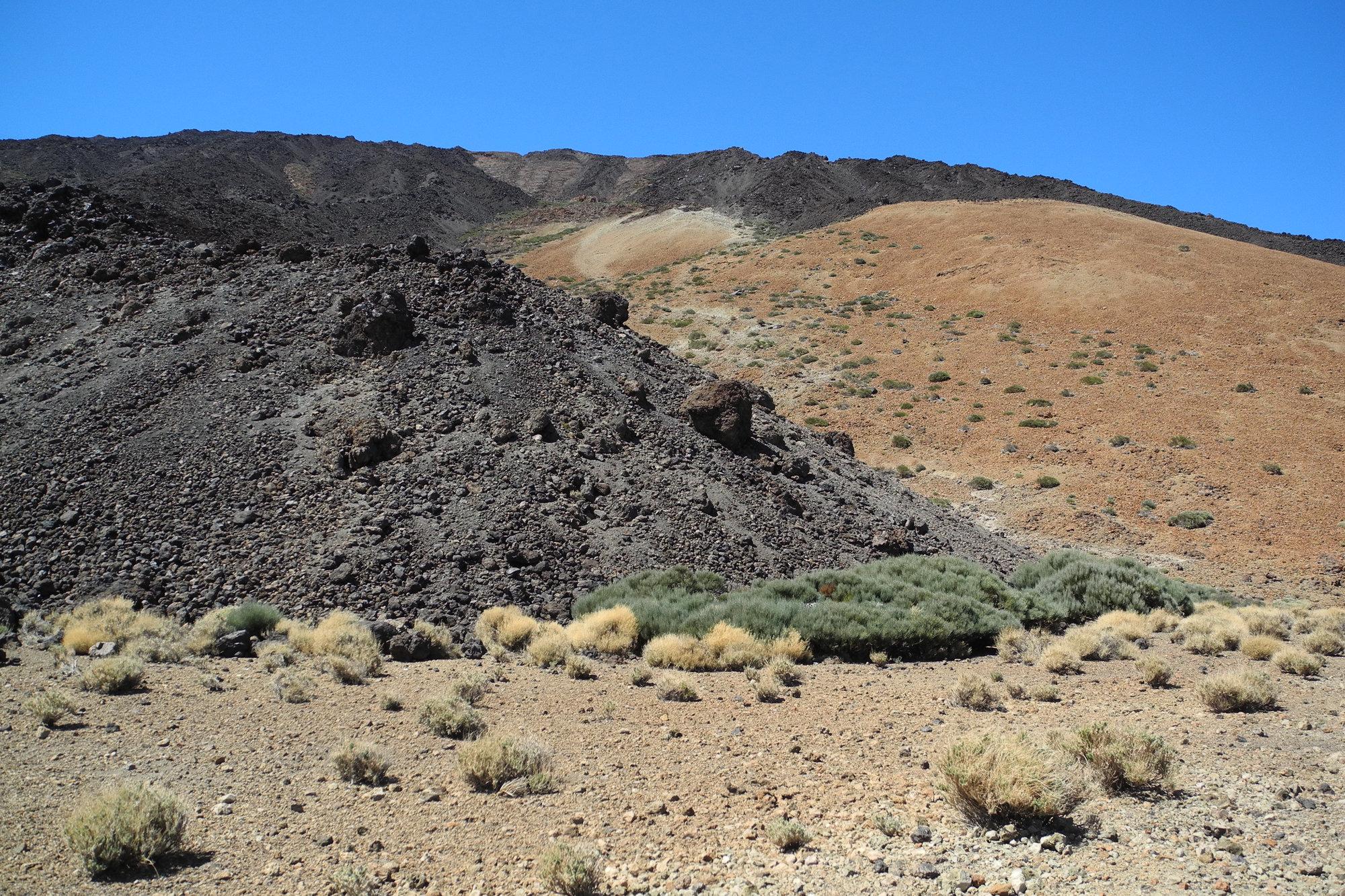 местность над вулканом Тейде