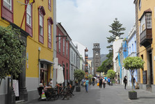 pěší ulička Calle Obispo Rey Redondo