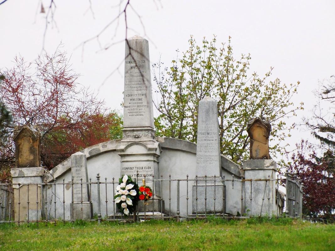 rodinná hrobka Konkolyovců