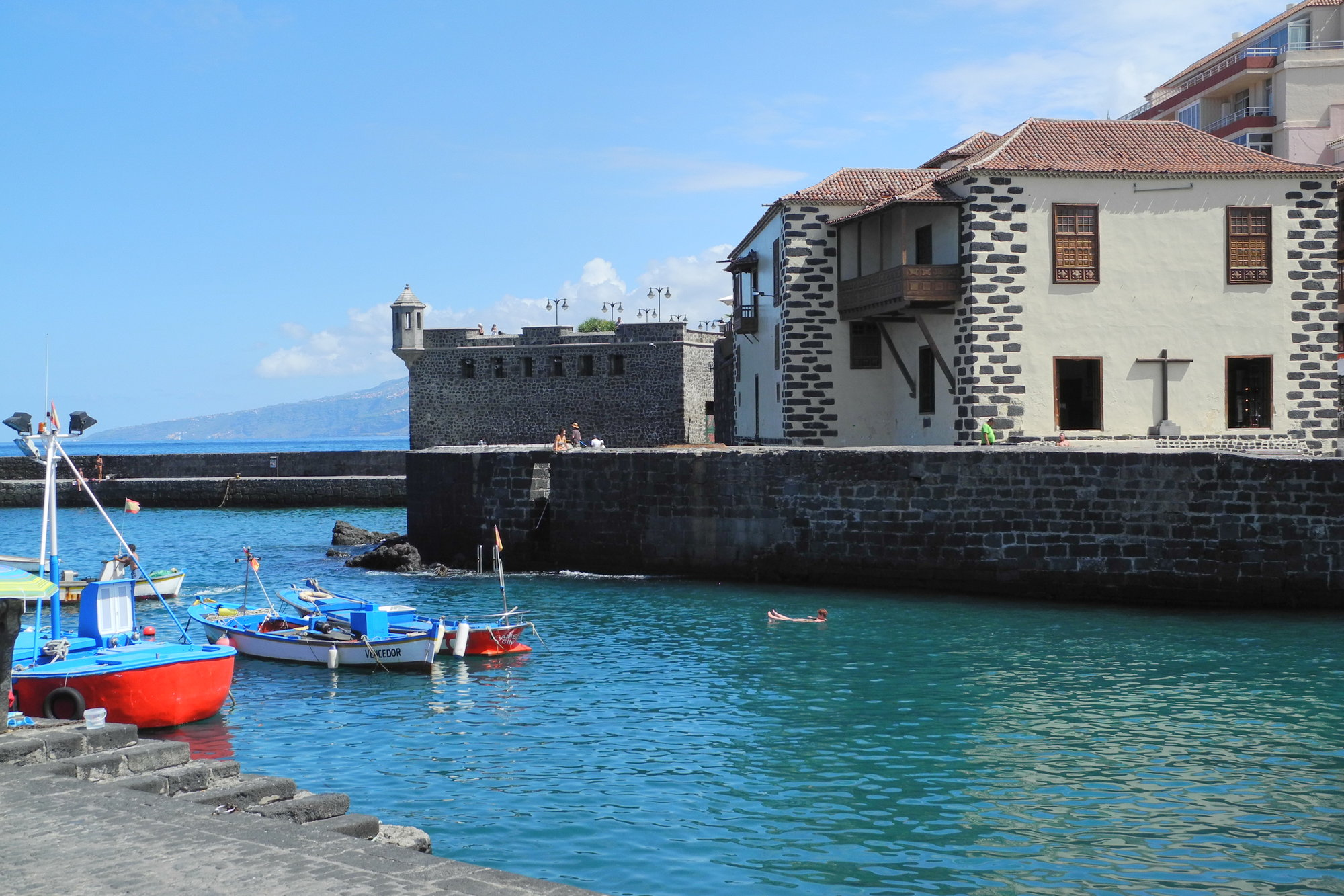 former fishing port