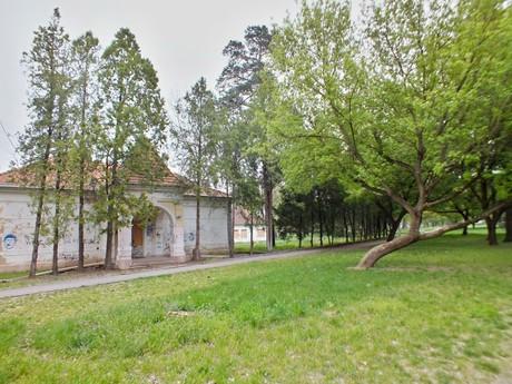 Ordódyovská kurie v parku, Bohatá (Hurbanovo)