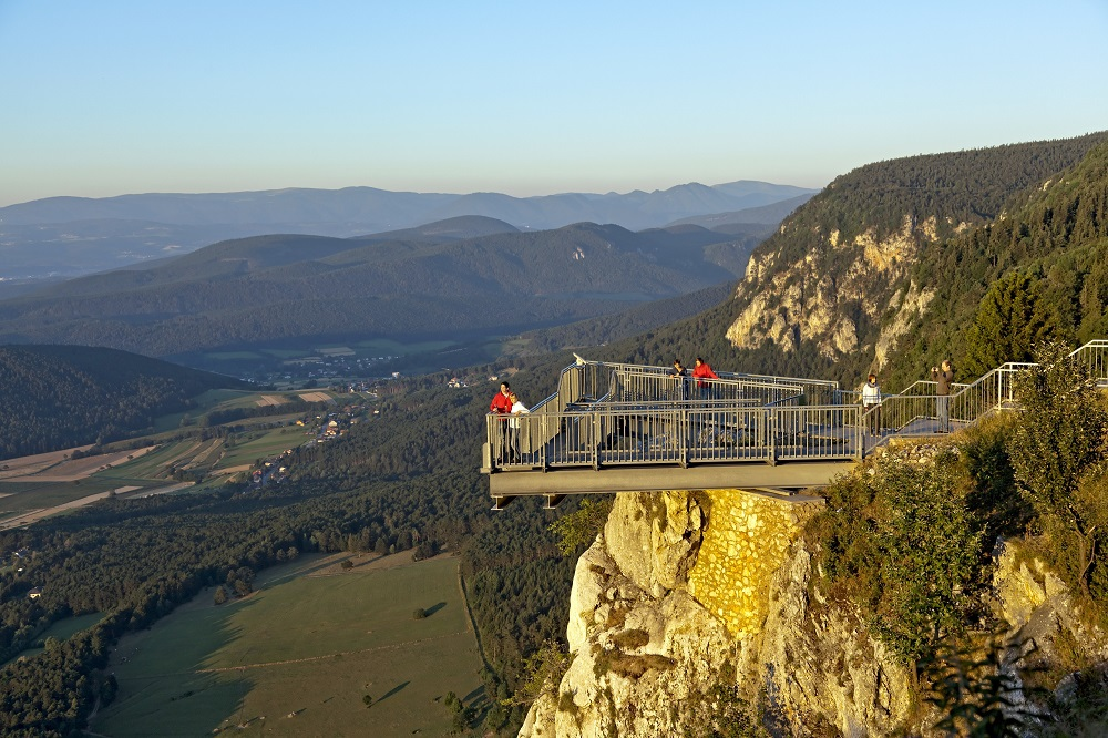 Skywalk, (c) Wiener Alpen / Franz Zwickl
