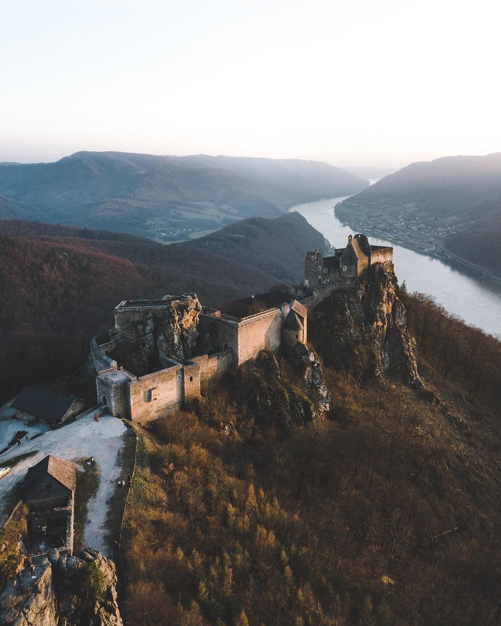 руины Aggstein, (c) Niederösterreich Werbung / Philipp Mitterlehner