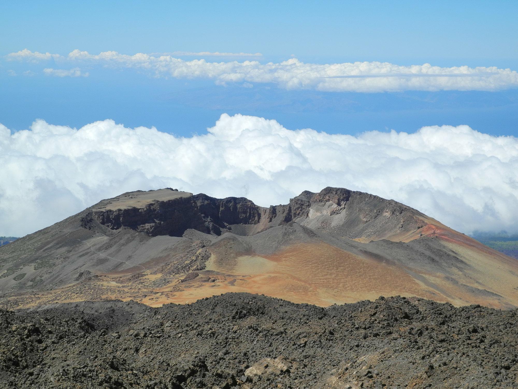 kráter sopky Pico Viejo