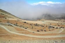 Teidské vajce pod sopkou Pico del Teide