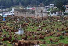 zrúcanina kostola San Sebastián na cintoríne