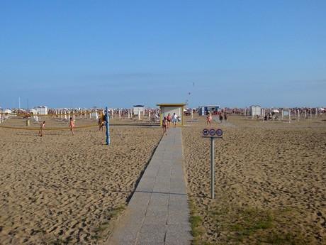 Bibione, pláž