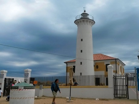 Bibione, Al faro lighthouse